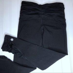 Lululemon Black Capri Leggings, Size 2